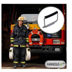 grip for fire hose