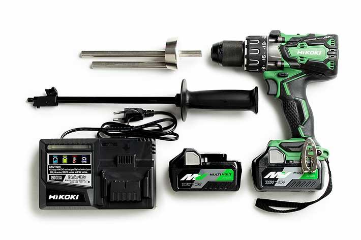 WIND-X Large and HiKOKI 36V drill set