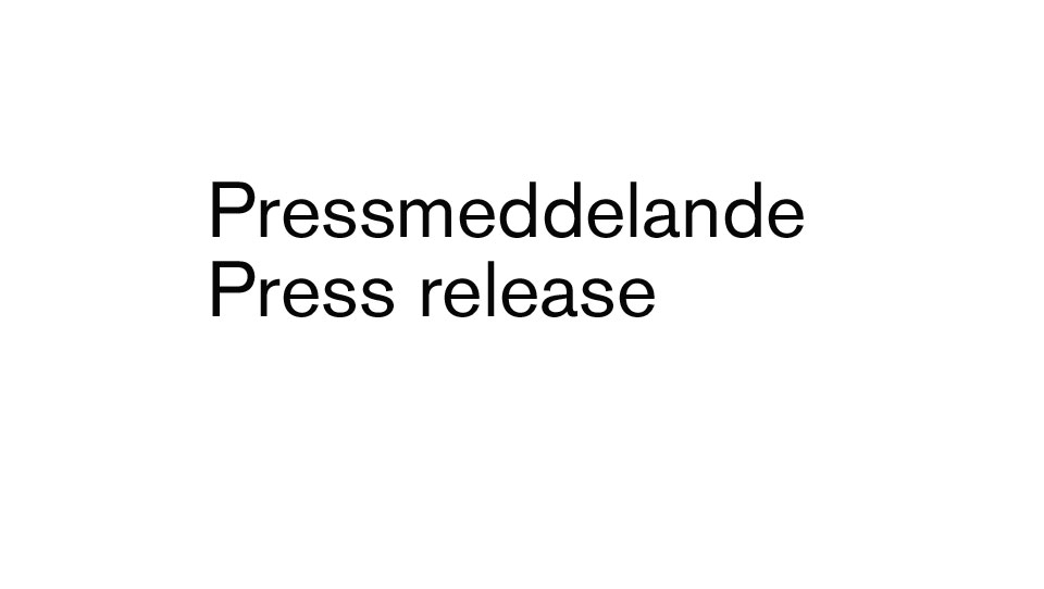 Press release X-innovations